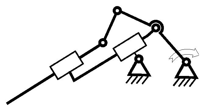 структурных схем механизма